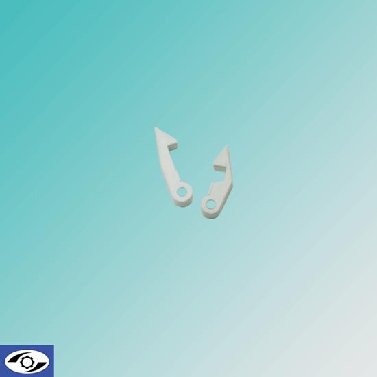 تصویر زبانه زیرووات پلاستیکی