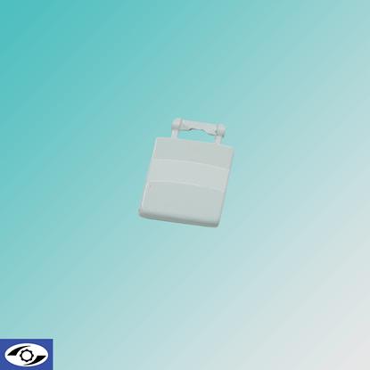 تصویر دستگیره ارج جدید سفید فلزی 4224